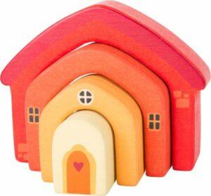 Small foot Holzbausteine Haus
