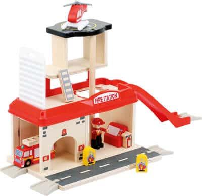 Small foot Feuerwehrwache mit Zubehör