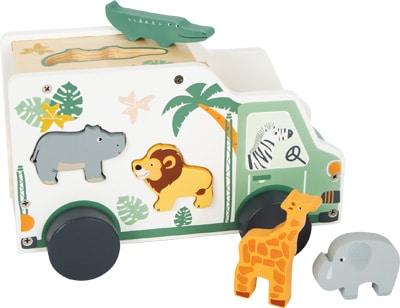 Small foot Steckspiel Spielauto Safari