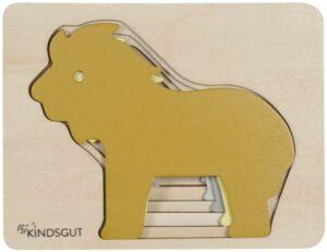 Kindsgut Tier-Puzzle Löwe
