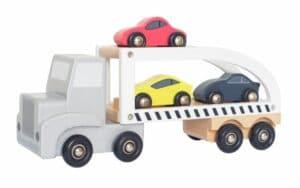 JaBaDaBaDo Autotransporter mit Sportwagen