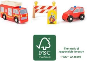 Small foot Feuerwehr-Set