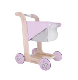 Kindsgut Einkaufswagen Rosa