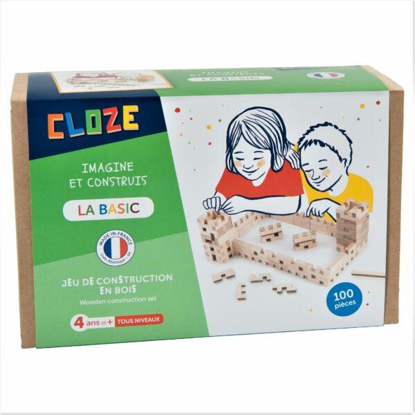 Cloze Basic Holzbaukasten 100 teilig