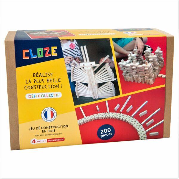 Cloze Défi Collectif Holzbaukasten 200 teilig
